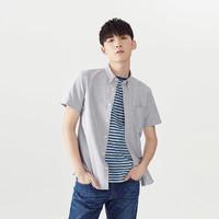 有品米粉节:凡客 牛津纺基础短袖衬衫
