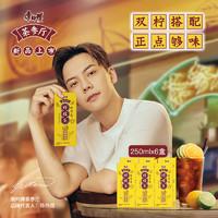 康師傅飲品茶參廳檸檬茶250mlx6盒