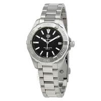 豪雅 Aquaracer黑色表盤女士腕表