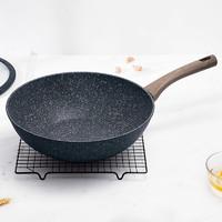 SIRONI 斯羅尼 匠心系列 不粘炒鍋 32cm 帶鍋蓋 *2件
