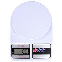 拜杰(Baijie)厨房秤 家用电子秤食物秤厨房烘培电子称 1g/5kg精准电子秤