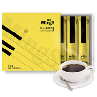 銘氏Mings 凍干速溶黑咖啡3g*10支 無糖添加無奶純咖啡 *4件