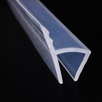 玻璃門 門縫防風檔條 h型