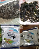福建東山頭水紫菜 38g *3件