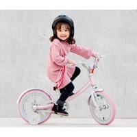有品米粉節 : Ninebot  九號 兒童運動自行車  粉色 14寸