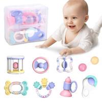 LIVING STONES 活石 嬰兒玩具牙膠套裝 收納盒8件套