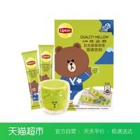 立頓/Lipton 絕品醇日式抹茶 沖飲奶茶速溶裝190g/盒 新老包裝 *2件