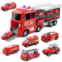 兒童玩具車1-6周歲合金貨柜汽車