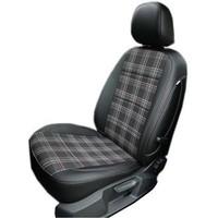 曠虎 專車專用條紋款全包皮織混搭汽車座套坐墊