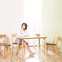 有品米粉节、历史低价:8H Sunny 摩登实木餐桌椅(一桌四椅)