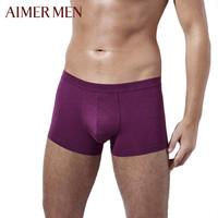 AIMER MEN 愛慕先生 NS23U81棉加莫代爾男士內褲 *6件
