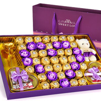 費列羅巧克力禮盒生日糖果禮盒500g