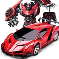 移動專享 : 活石 兒童玩具遙控可變形賽車