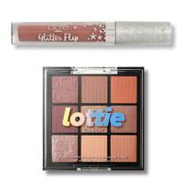復活節狂歡、湊單品、銀聯專享 : Feelunique Glisten & Glow Bauble 9色眼影盤+唇釉