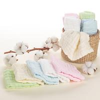 碧c   紗布口水巾7條裝