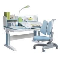 Totguard 护童 吉象系列 1.2米大理石蓝+灵猫椅637F 学习桌椅套装