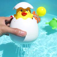 移動專享: BEAR VALLEY 熊山谷 兒童洗澡戲水玩具 會下雨的鴨蛋