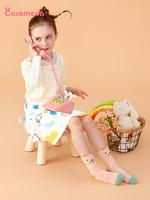 caramella寶寶襪春秋純棉中筒襪子男女童襪子嬰兒襪可愛卡通襪子