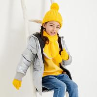 稚行 兒童針織手套圍巾帽子套裝