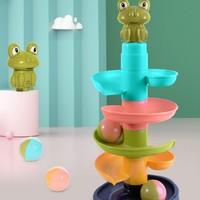 知貝 嬰兒早教益智玩具 轉轉疊疊樂
