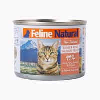 K9 Feline 主食貓罐頭 羊肉&三文魚170g *10件
