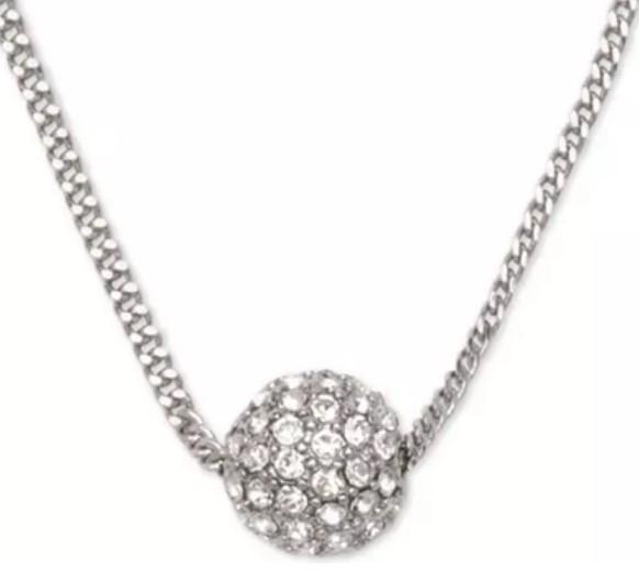 Givenchy 纪梵希 银色星球水晶项链