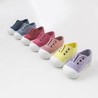 戴維貝拉davebella童鞋嬰兒鞋春季新款男女寶寶鞋子/兒童布膠鞋帆布鞋DB4688 藕粉色 130(鞋內長13cm)