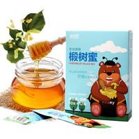 北大荒 椴樹蜜 蜂蜂熊系列 東北黑蜂  純蜂蜜 120g *10件