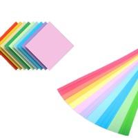 巧冠 7cm折纸 50张 +星星纸 90条/包 10色混装