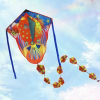 法塞纳 串瓢鱼风筝+30m线板