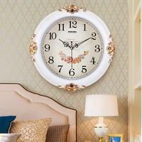 巴科達客廳靜音掛鐘家用創意時鐘時尚個性鐘表歐式掛表臥室石英鐘