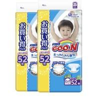 GOO.N 大王 嬰兒寶寶紙尿褲 XL52片 2包裝