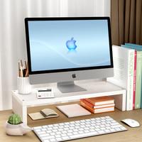 嘉蘭 X1 電腦顯示器增高架 單層 白橡木
