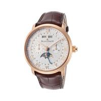 复活节狂欢、银联专享:BLANCPAIN 宝珀 Villeret系列 6685-3642A-55B 男士全历月相机械腕表