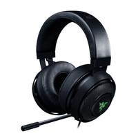 雷蛇(Razer)北海巨妖7.1 V2環繞聲頭戴式耳機電腦游戲吃雞專用RGB耳麥USB 北海巨妖7.1 v2-黑色