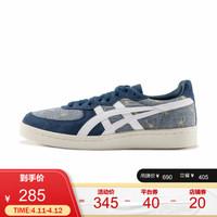 Onitsuka Tiger/鬼塚虎運動休閑女鞋 GSM 1182A030-400 藍色 37.5