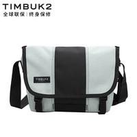 美國天霸TIMBUK2 斜跨包時尚單肩包騎行包學生男女 桉樹灰/音速黑經典款信使包(S)TKB1108-2-2652