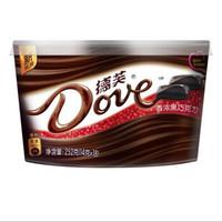 德芙巧克力碗装 香浓黑252g *4件