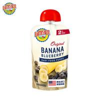 愛思貝 EARTH'S BEST 寶寶果泥香蕉藍莓泥寶寶輔食泥113g(6-36個月適用)+湊單品