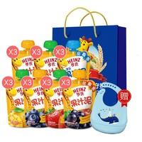 Heinz 亨氏 多口味果汁泥 120g*21袋 禮袋裝 *3件