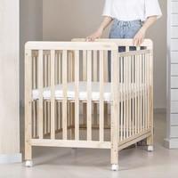 有品米粉节:贝影随行 多功能婴儿床 原木色 +凑单品