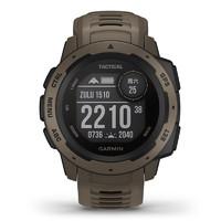 佳明(GARMIN)instinct心率手表本能系列戶外GPS跑步游泳運動智能軍表
