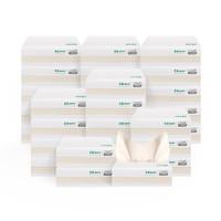 無染紙巾抽紙家用整箱實惠裝擦手紙抽取式小包紙抽加厚100抽30包