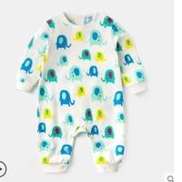 嘟嘟家 嬰兒滿印系列連體衣