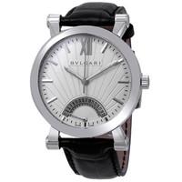 银联专享:BVLGARI 宝格丽 自动上链银表盘男士腕表