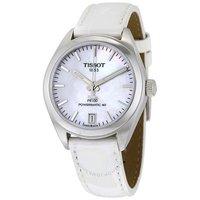 银联专享:TISSOT 天梭 PR 100 Powermatic T101.207.16.111.00 女士机械手表