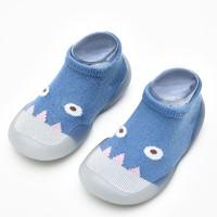 婴儿软底学步鞋防滑透气袜子鞋