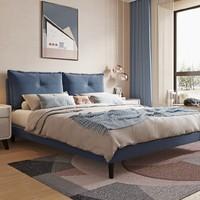 61预售:CHEERS 芝华仕 C038 双靠包可拆洗布艺软床 1.5/1.8m