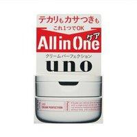 有券的上、京东PLUS会员:SHISEIDO 资生堂 UNO 吾诺 多效合一完美面霜 90g *5件