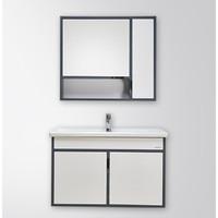 61预售:JOMOO 九牧 凌华 A2242-021A-1 现代简约浴室柜 90cm